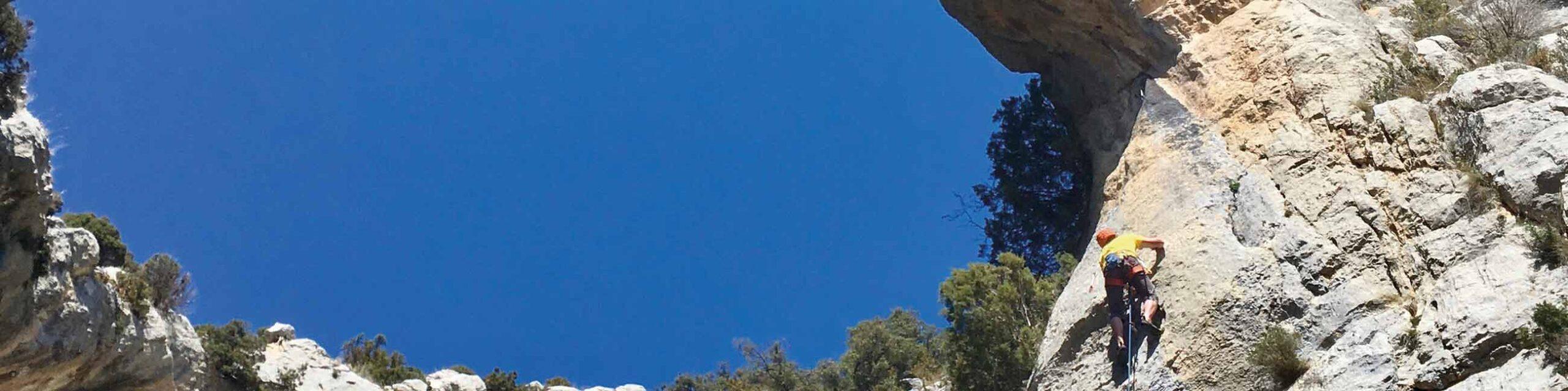 Escalada a Abella de la Conca amb Chris Sharma