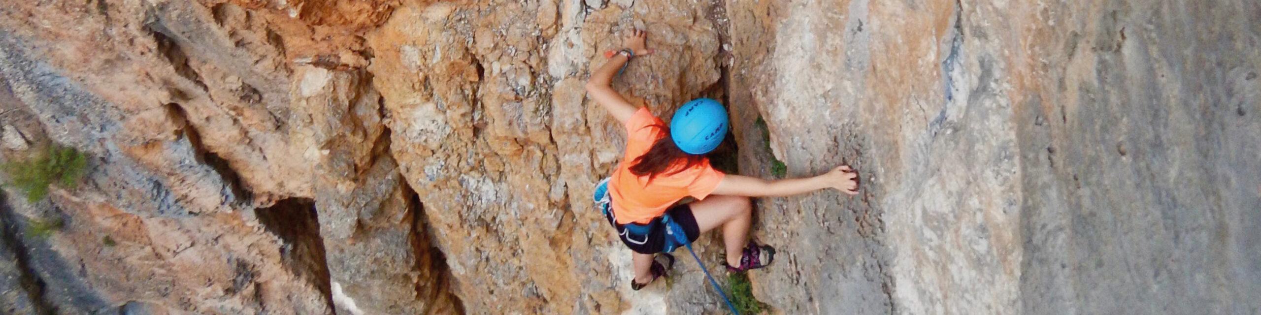 L'Argenteria, escalada amb en Chris Sharma