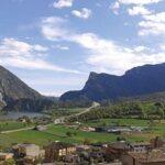 El Pantà d'Oliana des del Coll de Nargó