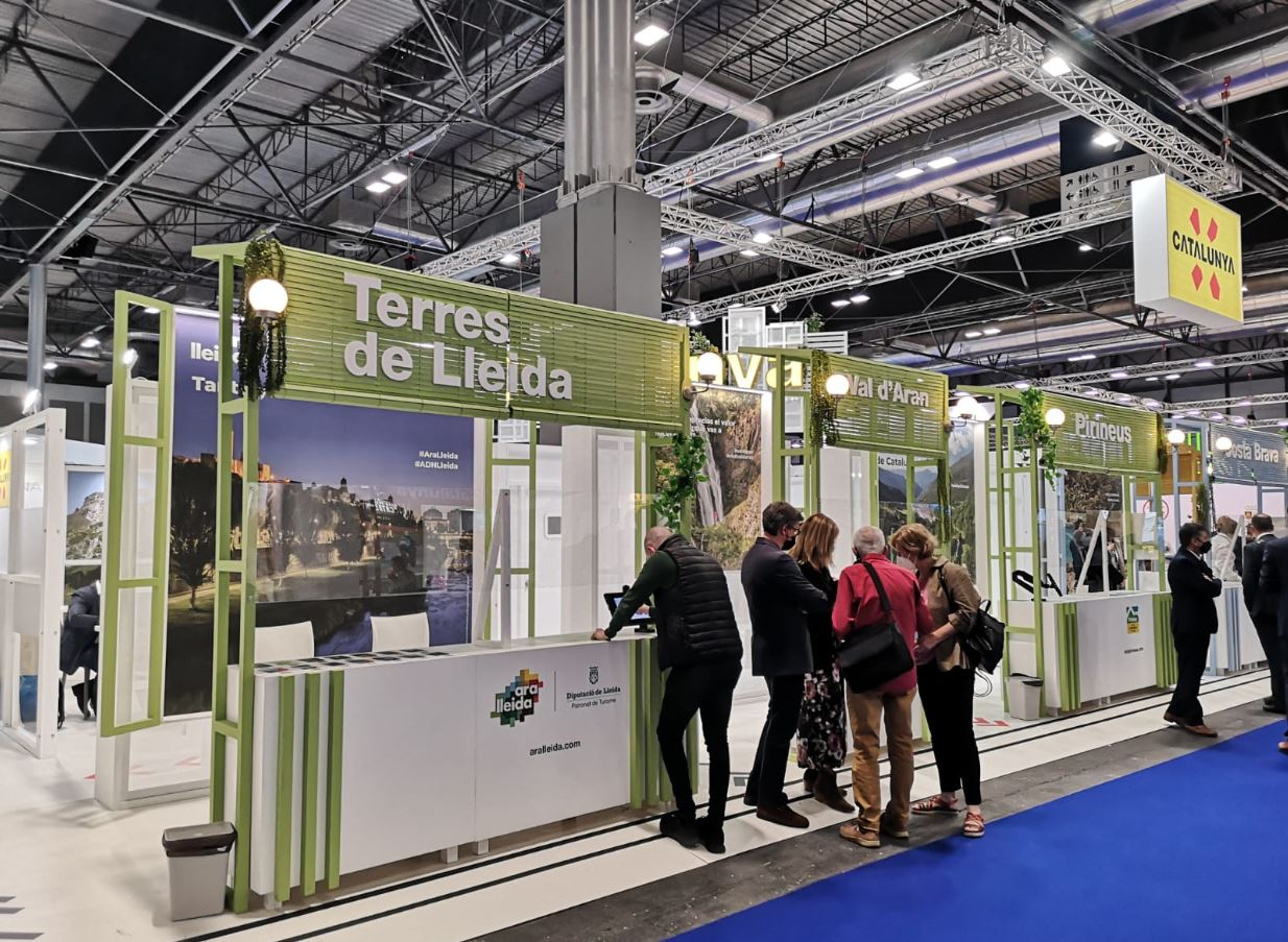 El Pirineu i les Terres de Lleida es promocionen a Fitur 2021
