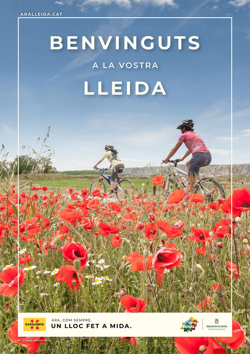 Poster campanya publicitat estiu 2021 Agència catalana de turisme