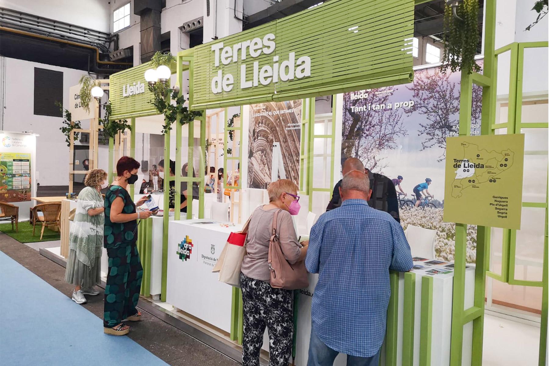 El Patronat de Turisme de la Diputació de Lleida va participar al saló B-Travel de Barcelona, apostant per la seva oferta de turisme natural i sostenible per al públic de proximitat