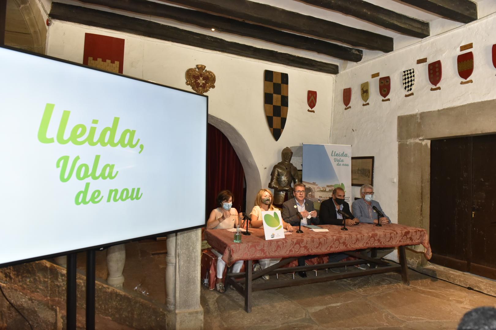 El Castell de Montonís ha acollit la presentació de la campanya i de ls previsions per aquest estiu