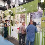Els mostradors de Pirineu i Terres de Lleida a la B-Travel 2021