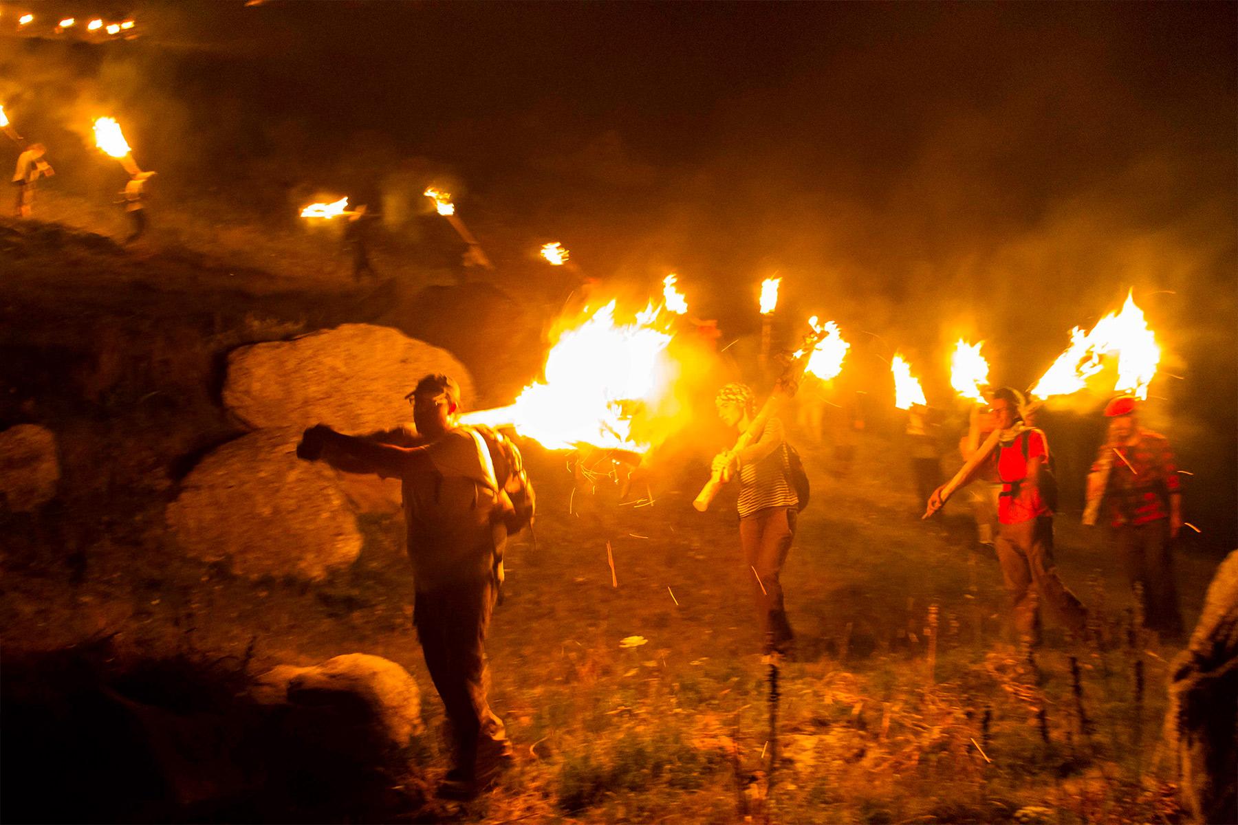 La celebració de les Falles torna al Pirineu de Lleida