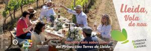 Faldó publicitat Ara Lleida gastronomia Campanya estiu 2021