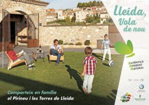 Mitja plana publicitat Ara Lleida familiar Campanya estiu 2021
