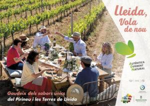 Mitja plana publicitat Ara Lleida gastronomia Campanya estiu 2021