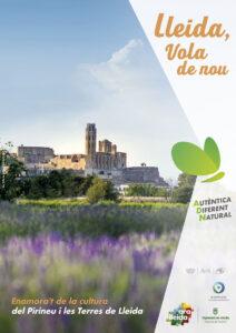Pòster turisme cultural Ara Lleida 2021