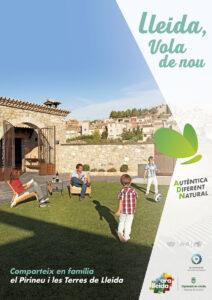 Pòster turisme familiar Ara Lleida 2021