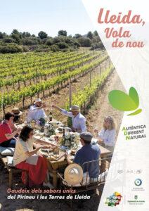 Pòster turisme gastronòmic Ara Lleida 2021