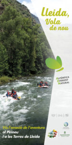 Banner campanya estiu Ara Lleida 2021. Turisme actiiu
