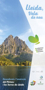 Banner campanya estiu Ara Lleida 2021. Turisme natura