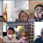 Reunió de la comissió informativa de Turisme presidida pel diputat Paco Cerdà