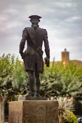 Estatua Gaspar de Portolà
