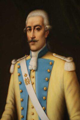 Retrat Gaspar de Portolà